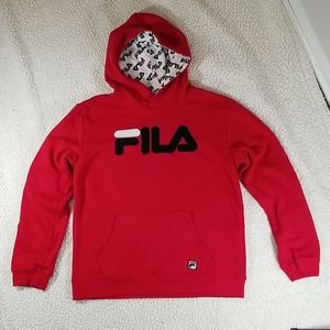 Women's Fila Hoodie With Spellout. XXL